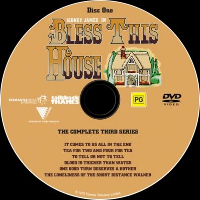 Bless This House - Season 3; disc 1