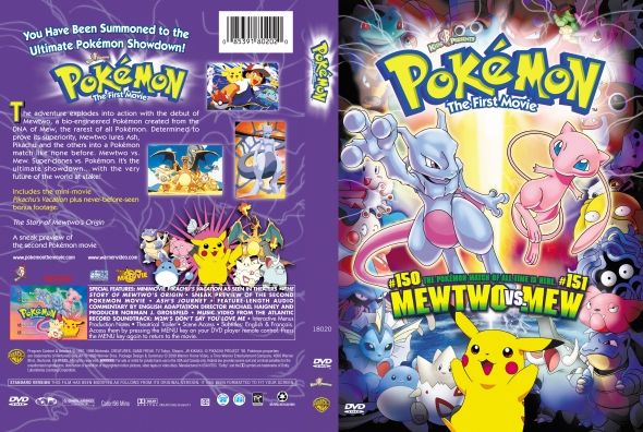 Covercity Dvd Covers Labels Pokemon The First Movie