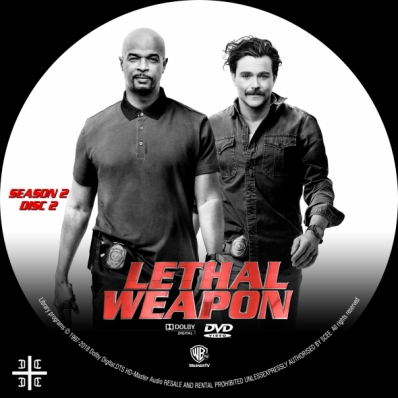 LETHAL WEAPON - Season 2; disc 2
