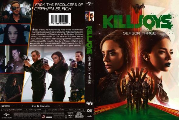SyFys Killjoys begins production for season 3