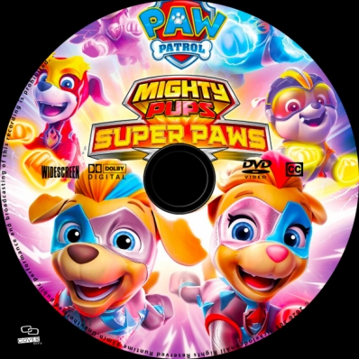 covercity - dvd covers  labels - paw patrol: mighty pups - super paws
