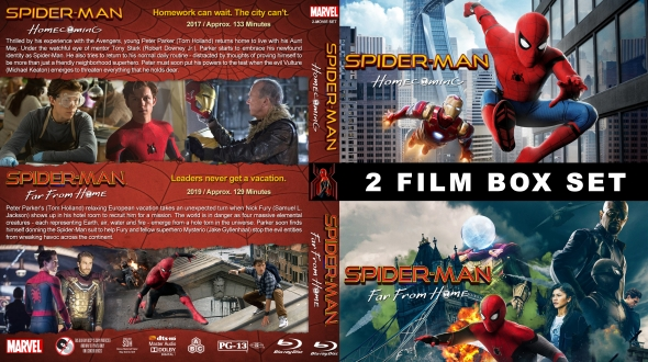 Spider-Man Avengers Double Feature