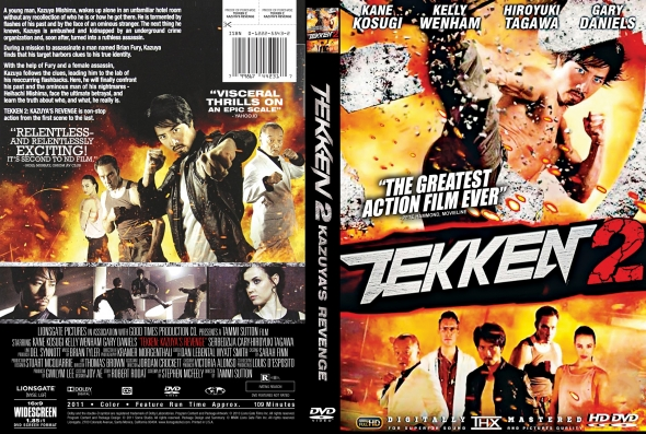 Covercity Dvd Covers Labels Tekken 2 Revenge Of Kazuya