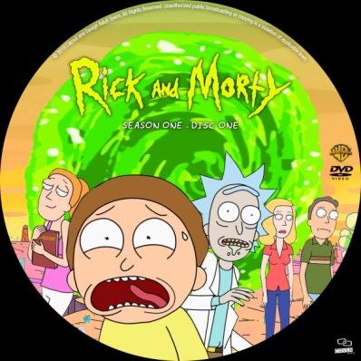 Rick and Morty - Season 1; disc 1