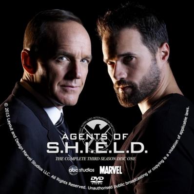 Agents of S.H.I.E.L.D. - Season 3; disc 1