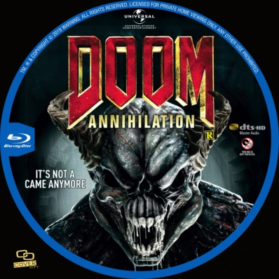 Covercity Dvd Covers Labels Doom Annihilation
