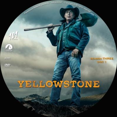 Yellowstone - Season 3; disc 1