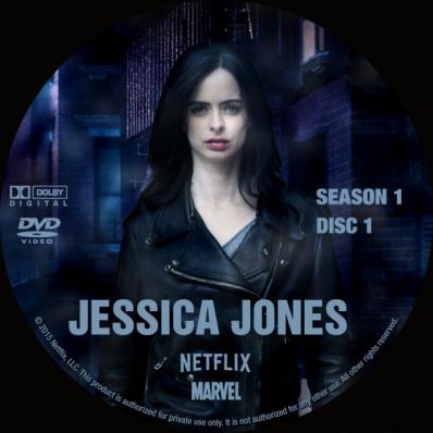 Jessica Jones - Season 1; disc 1