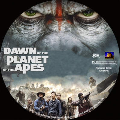 CoverCity - DVD Covers & Labels - Dawn of the Planet of ...