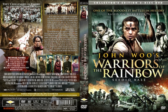 CoverCity - DVD Covers & Labels - Warriors Of The Rainbow: Seediq Bale