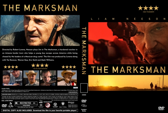 CoverCity - DVD Covers & Labels - The Marksman