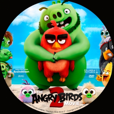 Covercity Dvd Covers Labels The Angry Birds Movie 2
