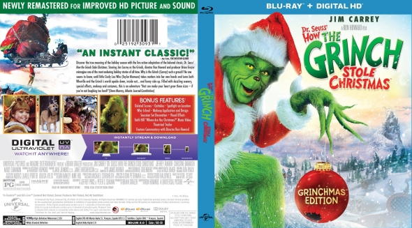 How The Grinch Stole Christmas 2021 Dvd Cover Covercity Dvd Covers Labels How The Grinch Stole Christmas