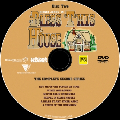 Bless This House - Season 2; disc 2