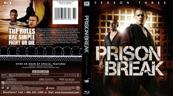 Covercity Dvd Covers Labels Prison Break Season 3