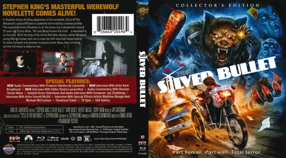Covercity Dvd Covers Labels Silver Bullet