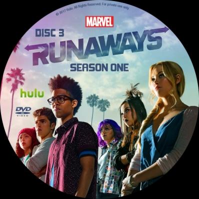 Runaways - Season 1; disc 3