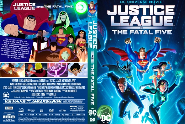 Covercity Dvd Covers Labels Justice League Vs The Fatal Five