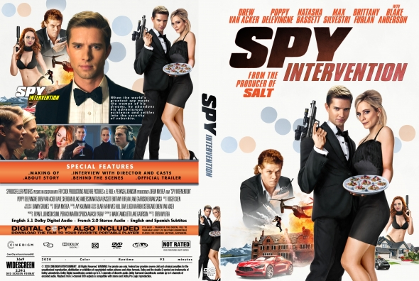 CoverCity - DVD Covers & Labels - Spy Intervention