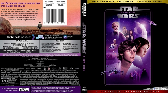 Covercity Dvd Covers Labels Star Wars Episode Iv A New Hope 4k