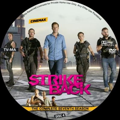 Strike Back - Season 7; disc 4