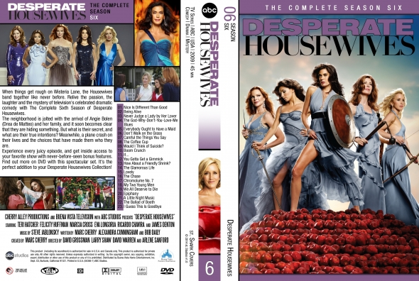 Covercity Dvd Covers Labels Desperate Housewives Season 6 Watch all 23 desperate housewives episodes from season 6,view pictures, get episode information and more. labels desperate housewives season