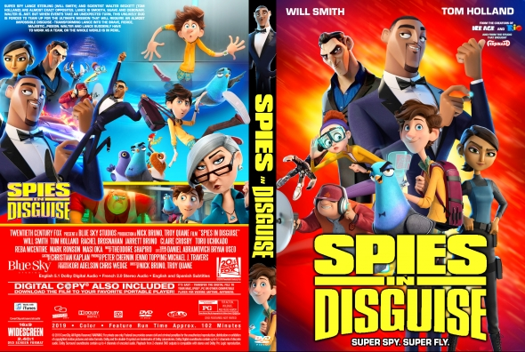 Covercity Dvd Covers Labels Spies In Disguise