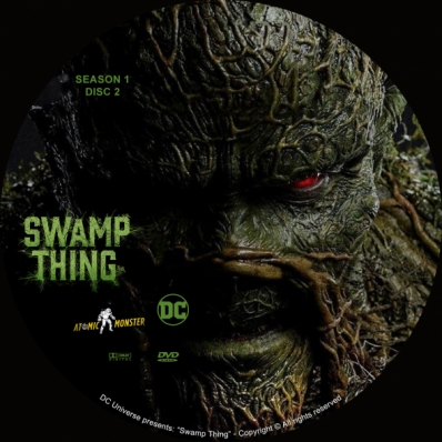 Swamp Thing - Season 1; disk 2