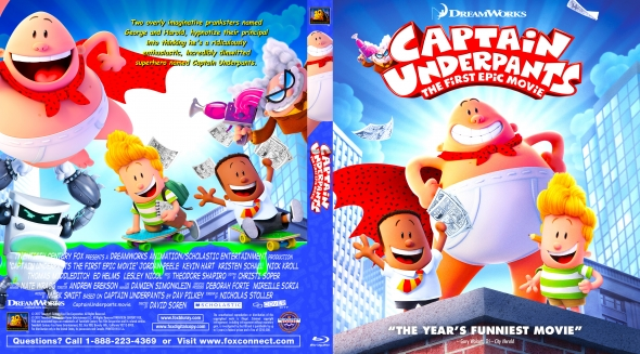 Covercity Dvd Covers Labels Captain Underpants The First Epic Movie