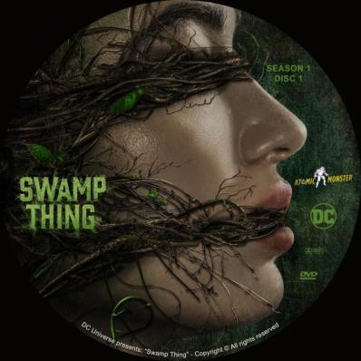 Swamp Thing - Season 1; disk 1