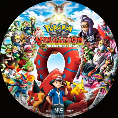 Covercity Dvd Covers Labels Pokemon The Movie Volcanion And