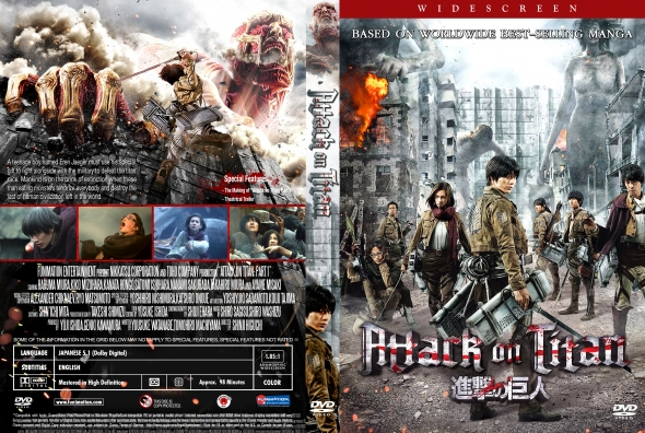 CoverCity - DVD Covers & Labels - Attack on Titan: Part 1