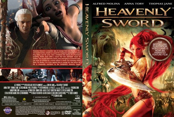 Covercity Dvd Covers Labels Heavenly Sword