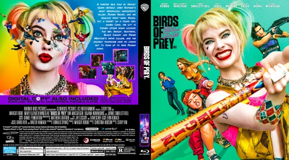 Covercity Dvd Covers Labels Birds Of Prey And The Fantabulous Emancipation Of One Harley Quinn