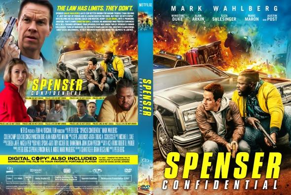 Covercity Dvd Covers Labels Spenser Confidential
