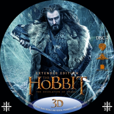 The Hobbit: The Desolation of Smaug - Special Extended Edition 3D; part 2