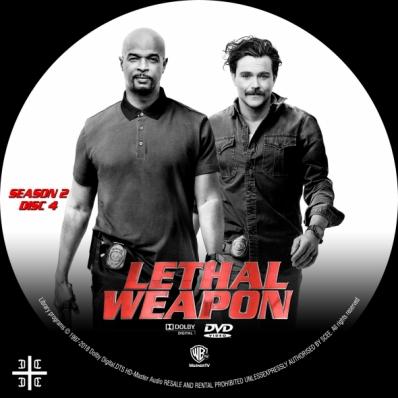 Lethal Weapon - Season 2; disc 4
