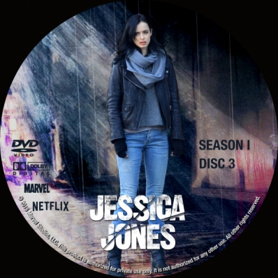 Jessica Jones - Season 1; disc 3