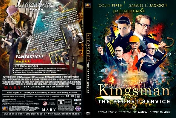 Covercity Dvd Covers Labels Kingsman The Secret Service