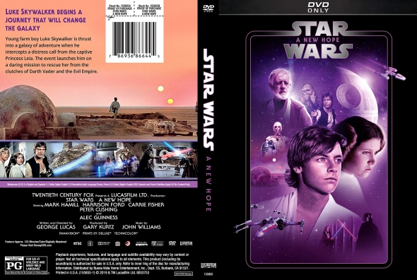 Covercity Dvd Covers Labels Star Wars Episode Iv A New Hope