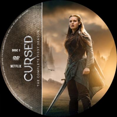 Cursed - Season 1; disc 1