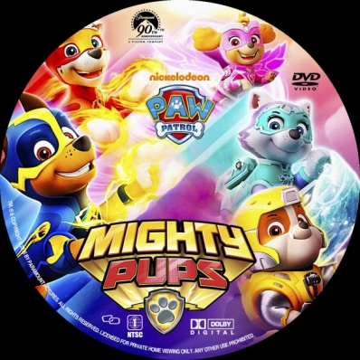 covercity - dvd covers  labels - paw patrol: mighty pups
