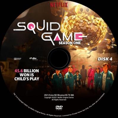 Squid Game - Season 1; disk 4