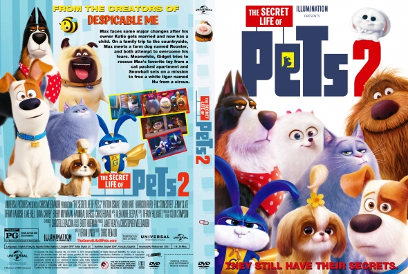 Covercity Dvd Covers Labels The Secret Life Of Pets 2
