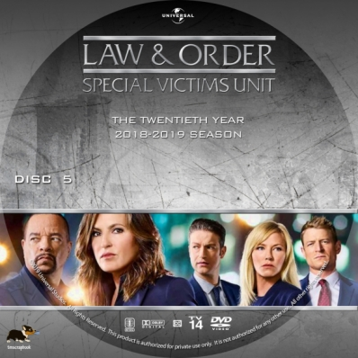 Law & Order: Special Victims Unit - Season 20, disc 5