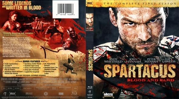 CoverCity - DVD Covers & Labels - Spartacus: Blood And ...
