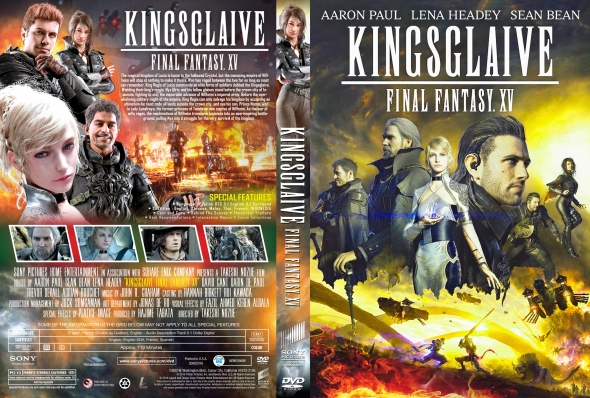 Covercity Dvd Covers Labels Kingsglaive Final Fantasy Xv